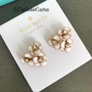 Kate Spade Flower Cluster Earrings